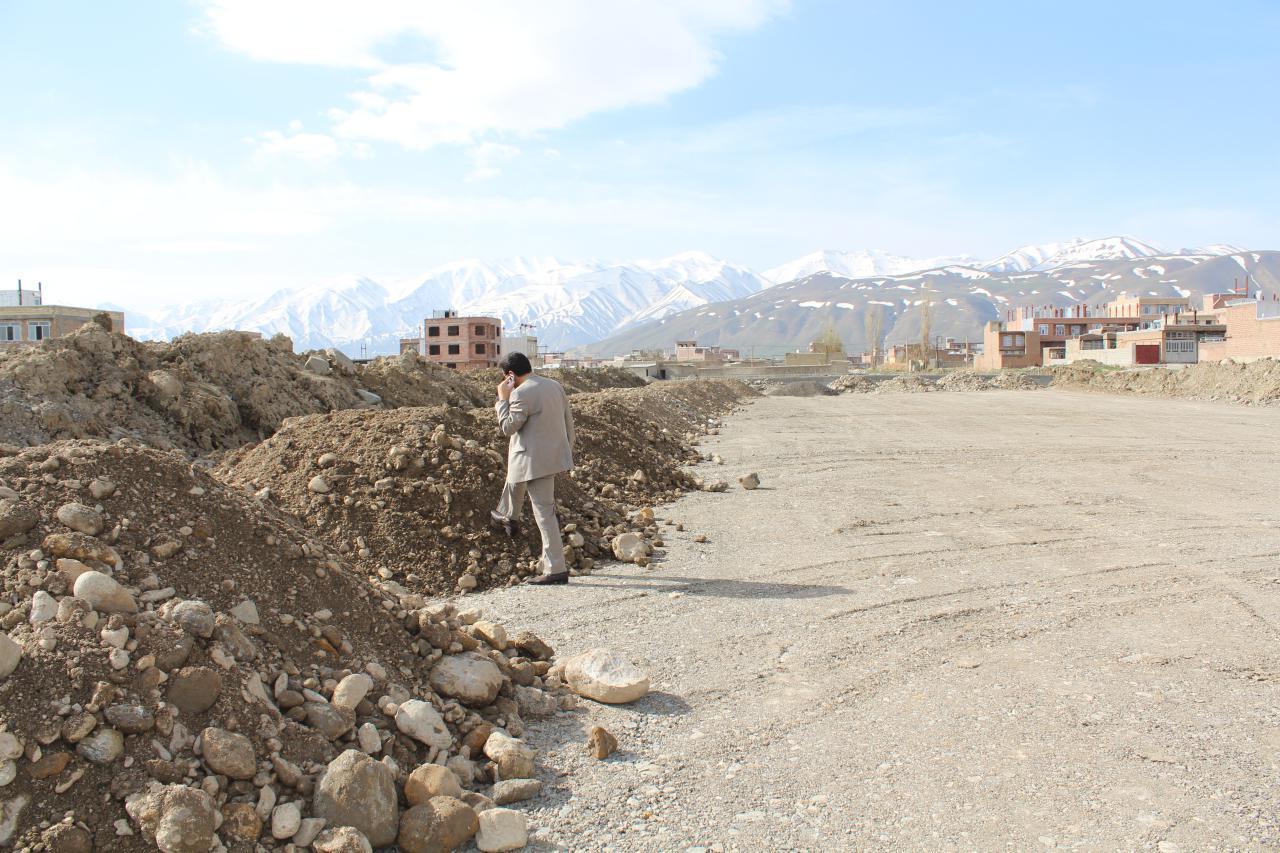 ادامه ساخت پروژه کمربندی جدید شهر