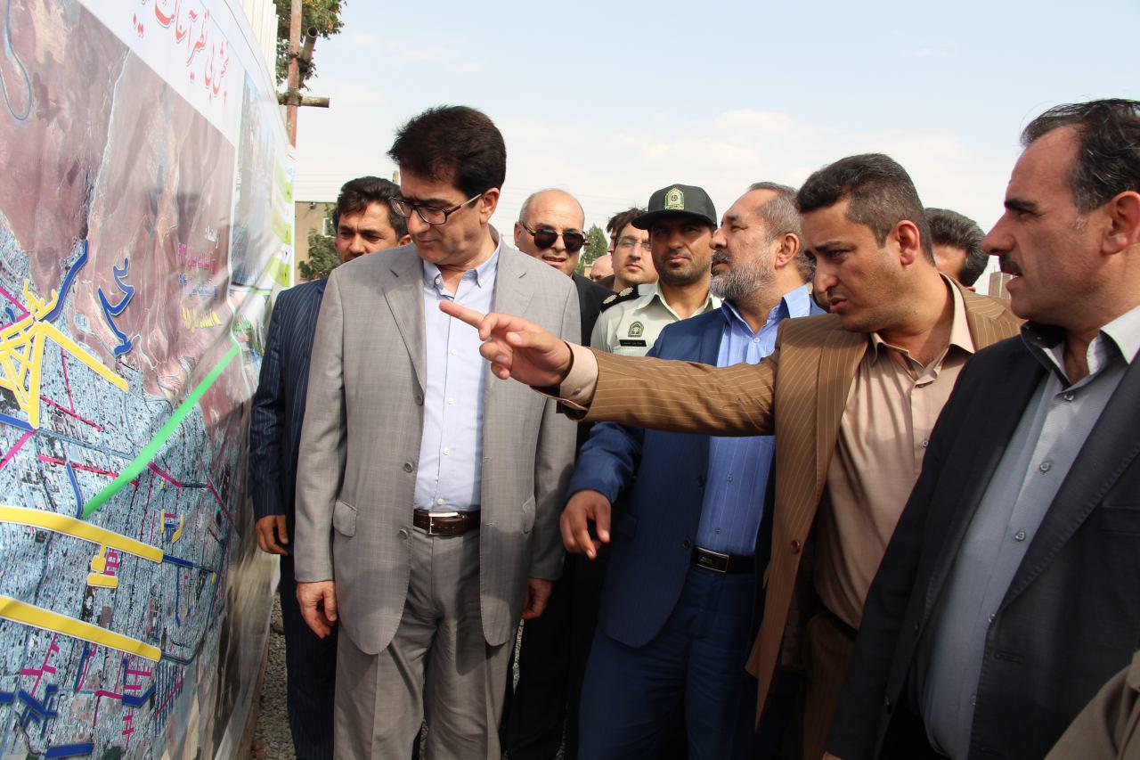 افتتاح پروژه های عمرانی شهرداری پیرانشهر در هفته دولت