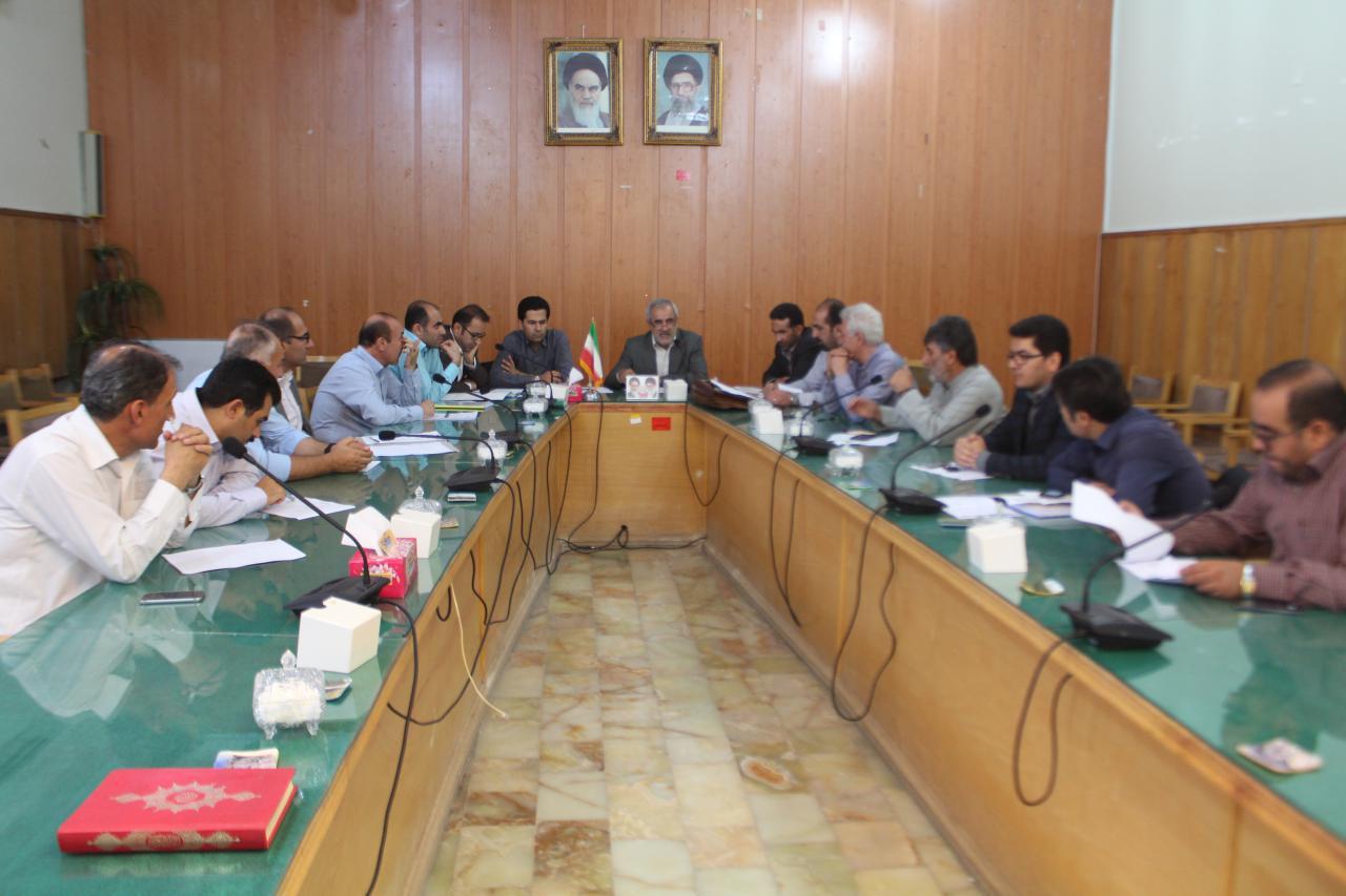چهارمین جلسه ستاد بازآفرینی مناطق محروم و حاشیه شهر